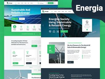 قالب Energia