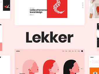 قالب Lekker