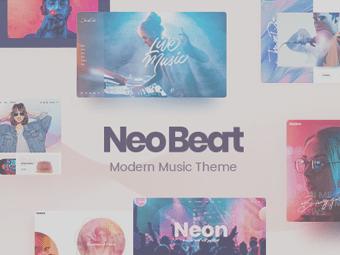 قالب NeoBeat