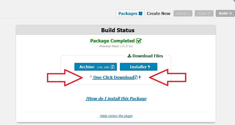 خروجی گرفتن از سایت وردپرس با افزونه Duplicator