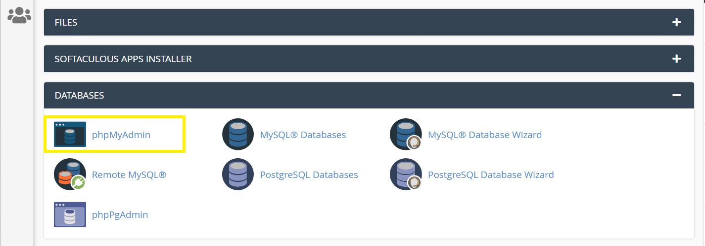 برون بری پایگاه داده سایت