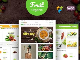 قالب Food Fruit