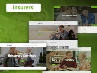 قالب Insurers