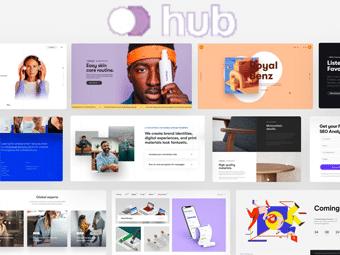 قالب Hub