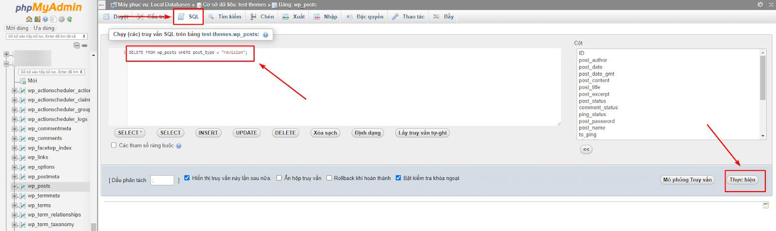 نحوه حذف رونوشت های پست با کد