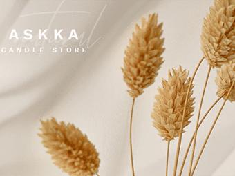 قالب Askka - قالب وردپرس فروشگاه شمع