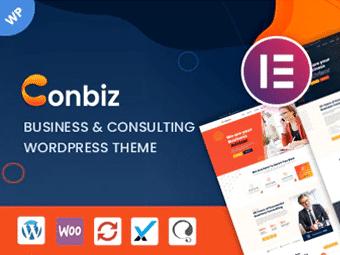 قالب Conbiz - قالب وردپرس کسب و کار و مشاور