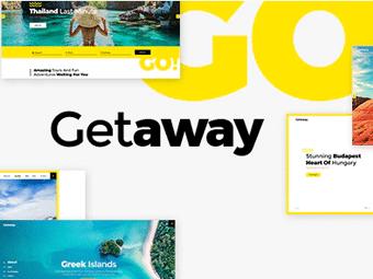 قالب Getaway - قالب سفر و گردشگری