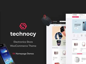 قالب Technocy - قالب فروشگاه لوازم الکترونیکی